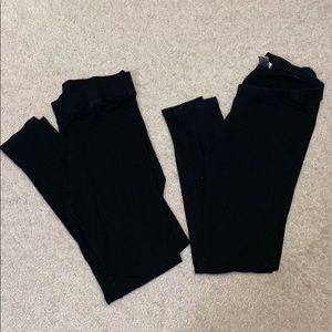 (Set) Topshop & LAmade maternity leggings
